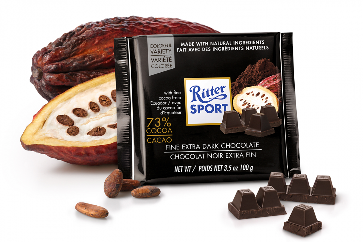Ritter 73 Fine Extra Dark Chocolate 100g 3 5 Oz
