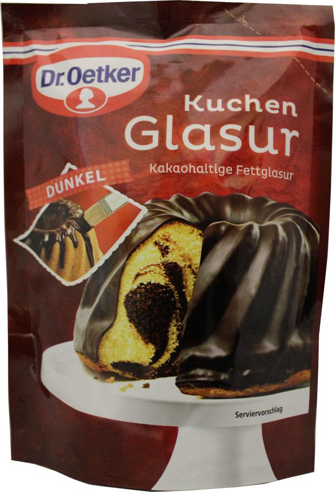 Dr Oetker Kuchen Dunkel Glasur Dark Chocolate