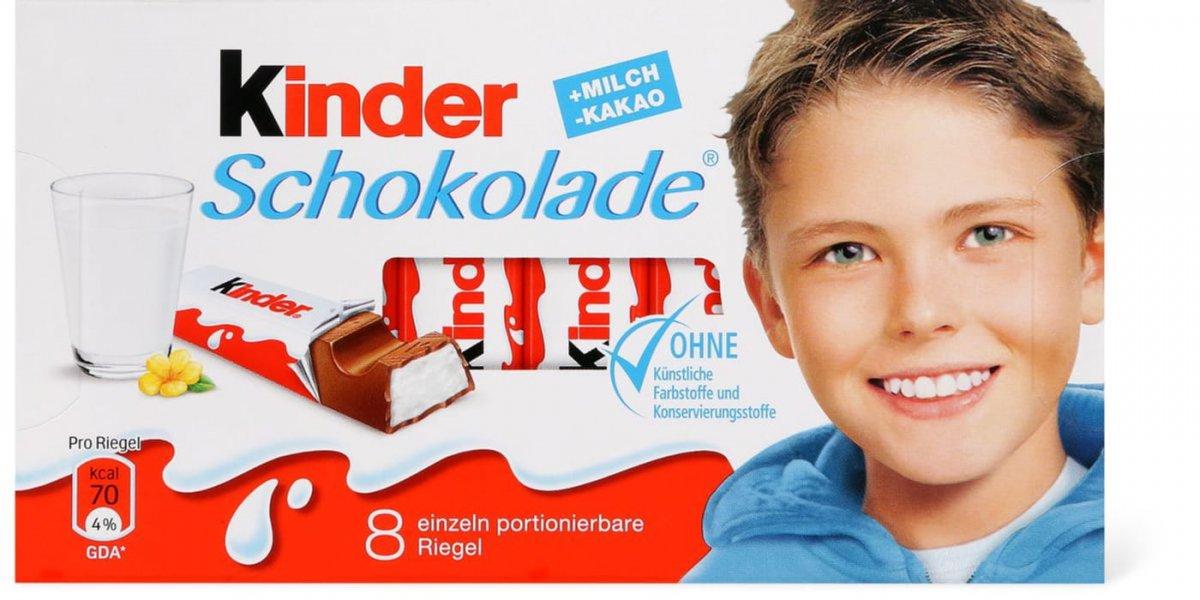 Ferrero Kinderschokolade 2 Pack European Grocery
